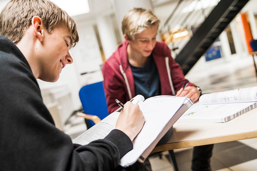 Valg af studieretning på Skals Efterskole