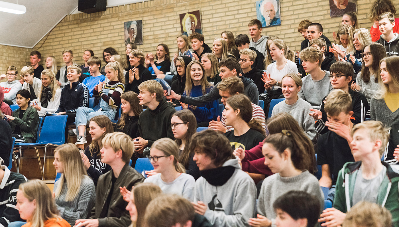 Årets gang på Skals Efterskole