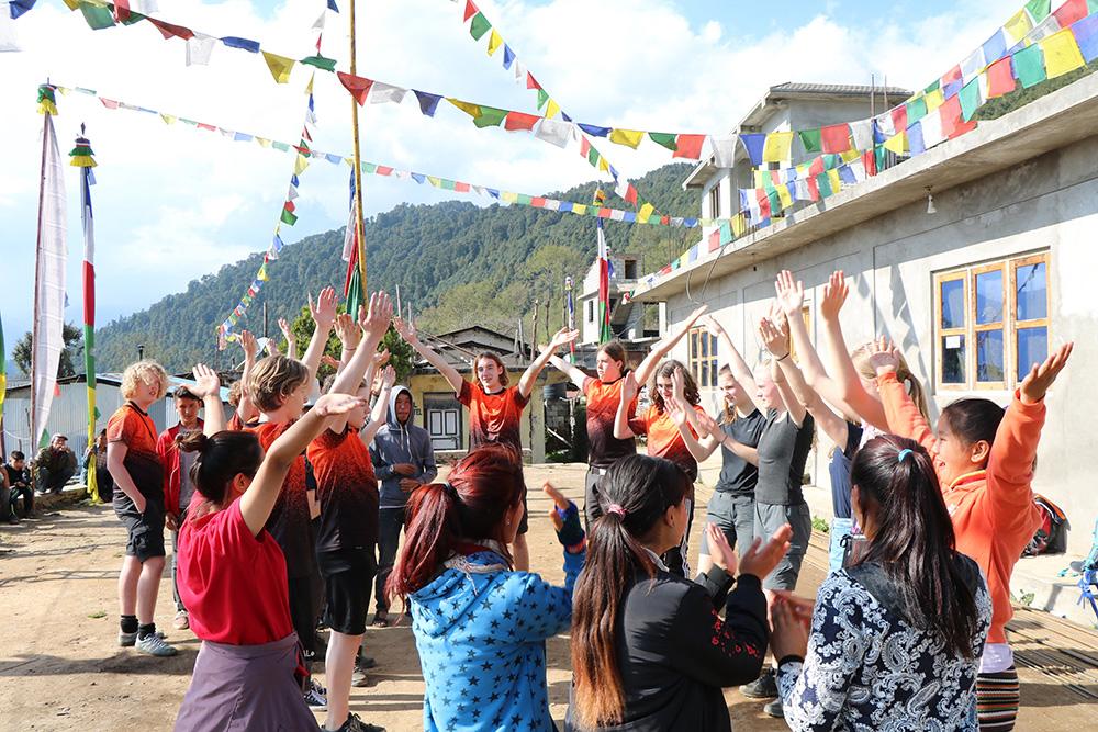 Rejsen går till Nepal med Skals Efterskole