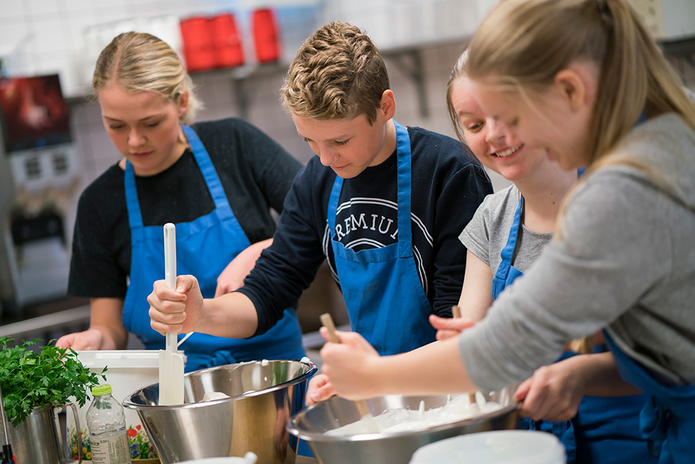 Kost og sundhed på Skals Efterskole