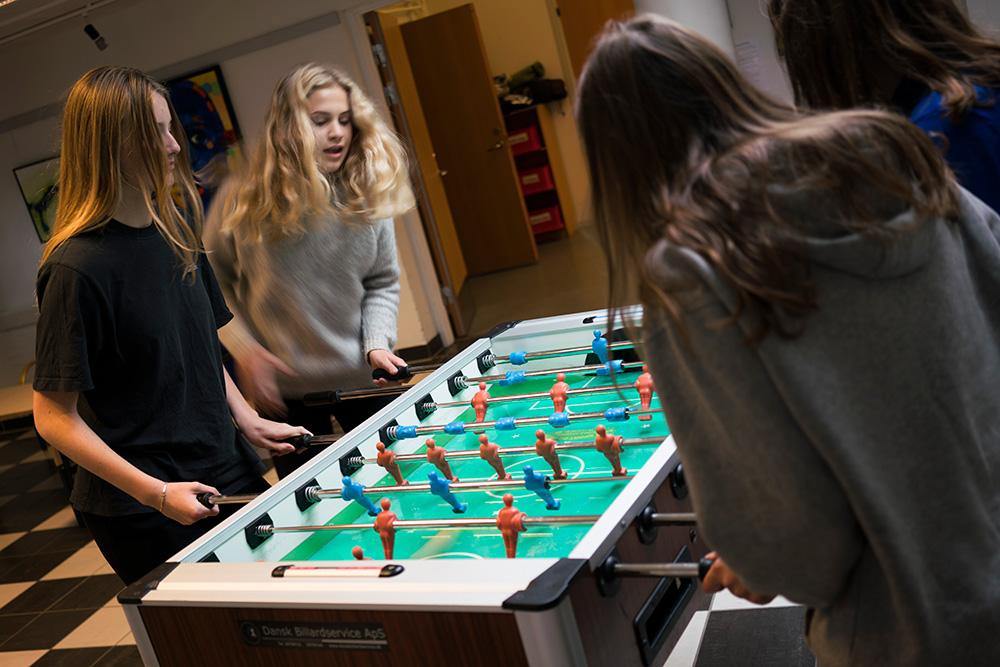 Elevfester på Skals Efterskole