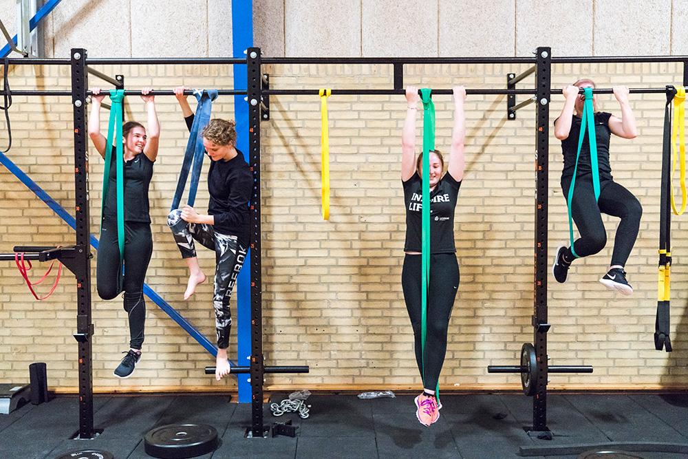 Styrketræning og fitness på Skals Efterskole