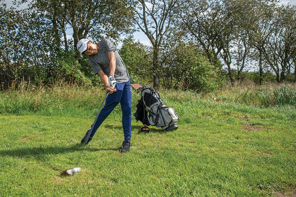 Golf som profilfag på Skals Efterskole